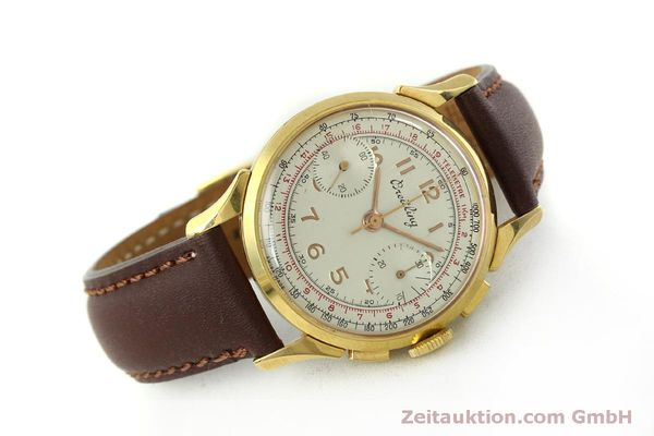 Used luxury watch Breitling * chronograph gold-plated manual winding Kal. Venus 188 Ref. 1193 VINTAGE  | 150801 03