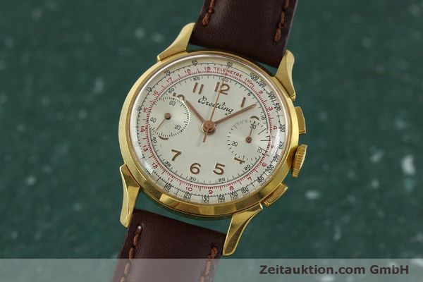 Used luxury watch Breitling * chronograph gold-plated manual winding Kal. Venus 188 Ref. 1193 VINTAGE  | 150801 04