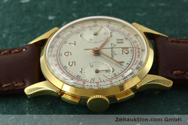 Used luxury watch Breitling * chronograph gold-plated manual winding Kal. Venus 188 Ref. 1193 VINTAGE  | 150801 05