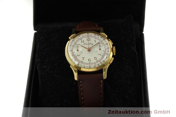 Used luxury watch Breitling * chronograph gold-plated manual winding Kal. Venus 188 Ref. 1193 VINTAGE  | 150801 07