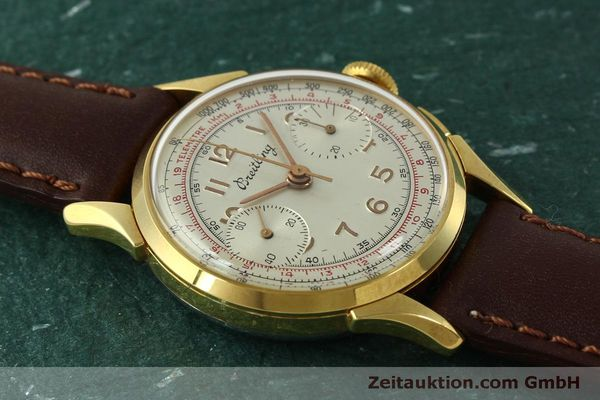 Used luxury watch Breitling * chronograph gold-plated manual winding Kal. Venus 188 Ref. 1193 VINTAGE  | 150801 12