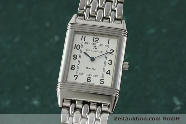 Used luxury watch Jaeger Le Coultre Reverso steel manual winding Kal. 846 Ref. 250.8.86  | 150803 04