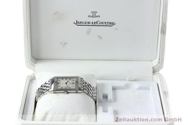Used luxury watch Jaeger Le Coultre Reverso steel manual winding Kal. 846 Ref. 250.8.86  | 150803 07