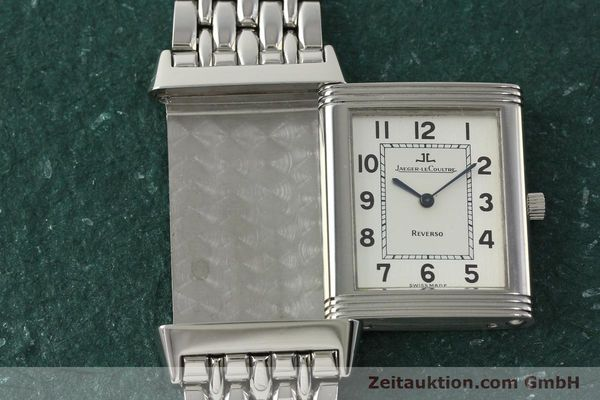 Used luxury watch Jaeger Le Coultre Reverso steel manual winding Kal. 846 Ref. 250.8.86  | 150803 15