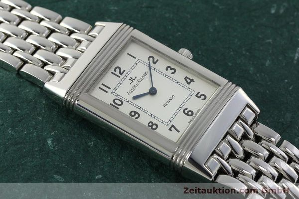 Used luxury watch Jaeger Le Coultre Reverso steel manual winding Kal. 846 Ref. 250.8.86  | 150803 16