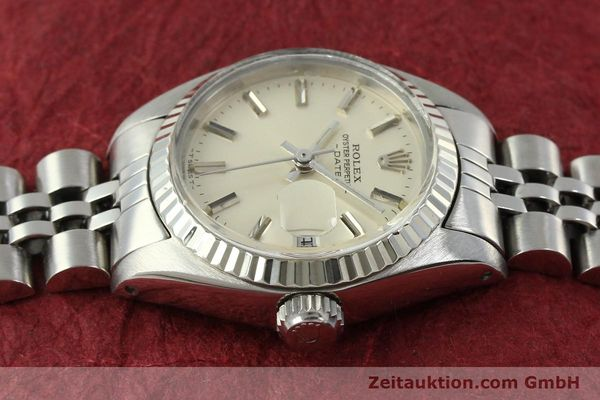 Used luxury watch Rolex Lady Date steel / white gold automatic Kal. 2030 Ref. 6917  | 150804 05