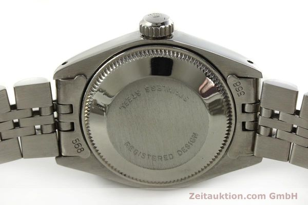 Used luxury watch Rolex Lady Date steel / white gold automatic Kal. 2030 Ref. 6917  | 150804 08