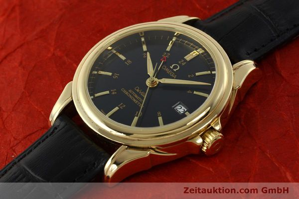 Used luxury watch Omega De Ville 18 ct gold automatic Kal. 2628A Ref. 46338033  | 150807 01