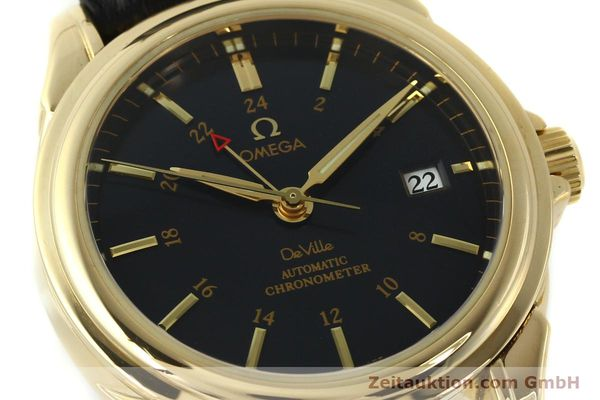 Used luxury watch Omega De Ville 18 ct gold automatic Kal. 2628A Ref. 46338033  | 150807 02