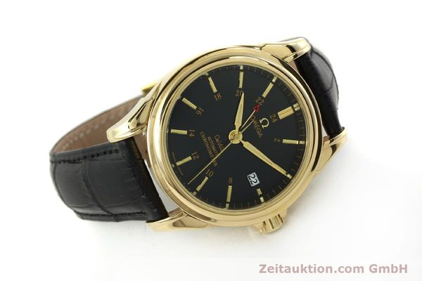 Used luxury watch Omega De Ville 18 ct gold automatic Kal. 2628A Ref. 46338033  | 150807 03