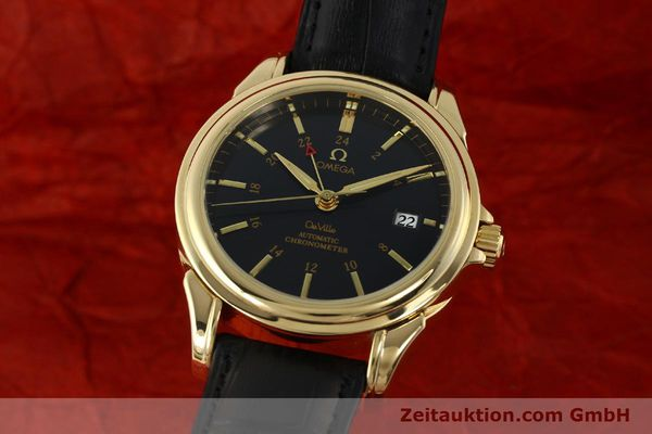 Used luxury watch Omega De Ville 18 ct gold automatic Kal. 2628A Ref. 46338033  | 150807 04