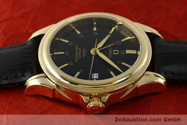 Used luxury watch Omega De Ville 18 ct gold automatic Kal. 2628A Ref. 46338033  | 150807 05