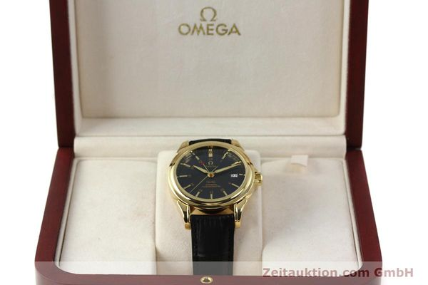 Used luxury watch Omega De Ville 18 ct gold automatic Kal. 2628A Ref. 46338033  | 150807 07