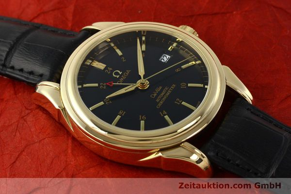 Used luxury watch Omega De Ville 18 ct gold automatic Kal. 2628A Ref. 46338033  | 150807 16