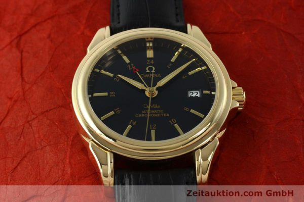 Used luxury watch Omega De Ville 18 ct gold automatic Kal. 2628A Ref. 46338033  | 150807 17