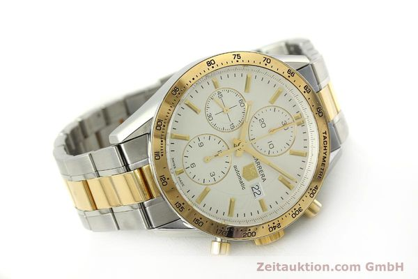 Used luxury watch Tag Heuer Carrera chronograph steel automatic Kal. 16 ETA 7750 Ref. CV2050  | 150808 03