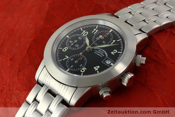 Used luxury watch Mühle Sport Chronograph chronograph steel automatic Kal. ETA 7750 Ref. M12300  | 150814 01
