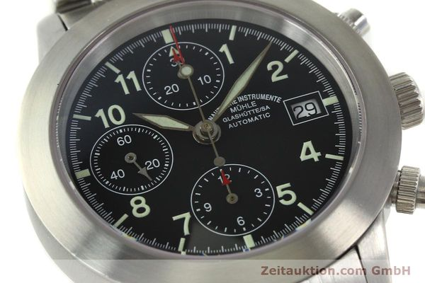 Used luxury watch Mühle Sport Chronograph chronograph steel automatic Kal. ETA 7750 Ref. M12300  | 150814 02