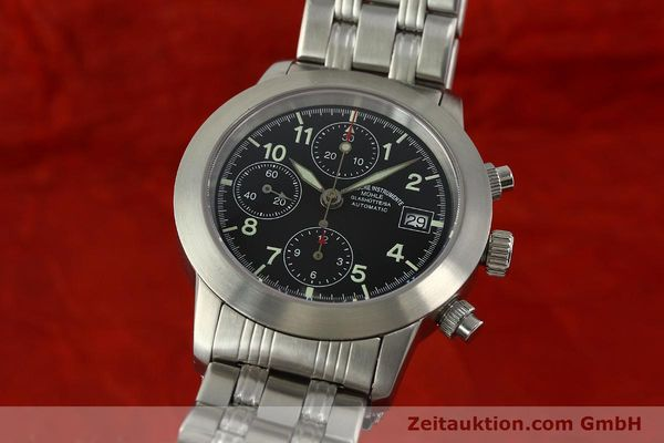 Used luxury watch Mühle Sport Chronograph chronograph steel automatic Kal. ETA 7750 Ref. M12300  | 150814 04
