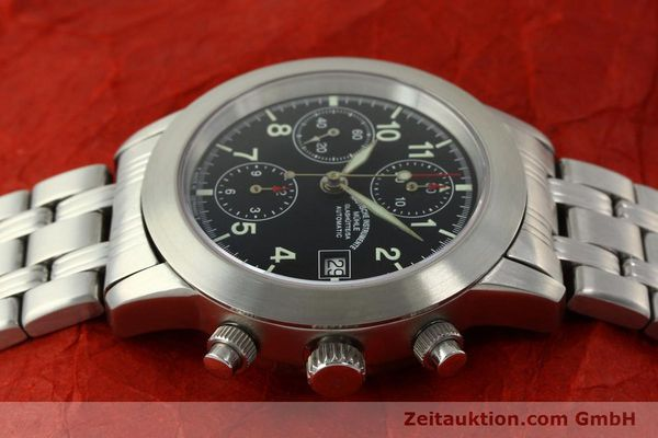 Used luxury watch Mühle Sport Chronograph chronograph steel automatic Kal. ETA 7750 Ref. M12300  | 150814 05