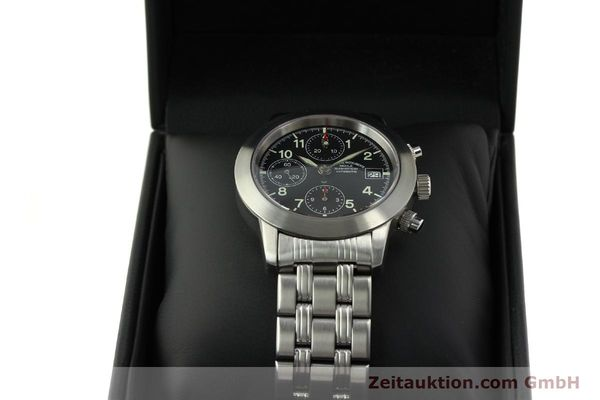 Used luxury watch Mühle Sport Chronograph chronograph steel automatic Kal. ETA 7750 Ref. M12300  | 150814 07