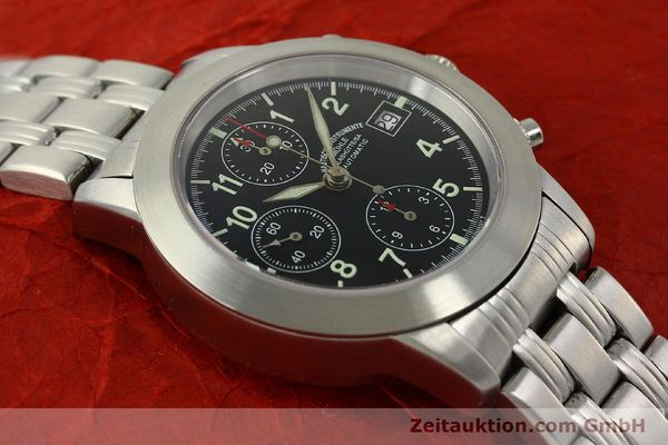 Used luxury watch Mühle Sport Chronograph chronograph steel automatic Kal. ETA 7750 Ref. M12300  | 150814 14