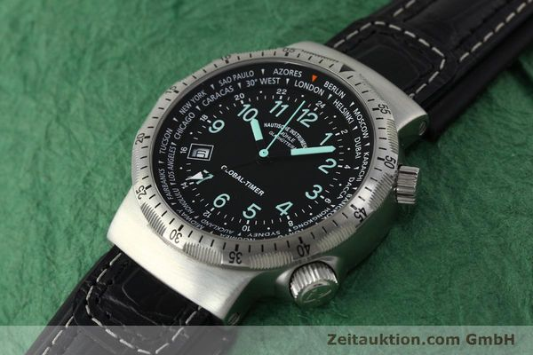 Used luxury watch Mühle Global-Timer  steel automatic Kal. ETA 2893-2 Ref. M1-41-13  | 150815 01