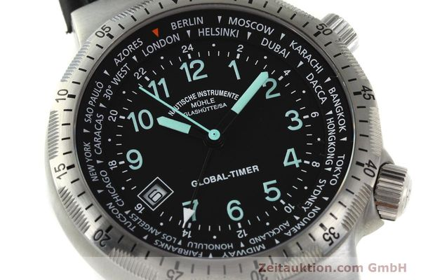 Used luxury watch Mühle Global-Timer  steel automatic Kal. ETA 2893-2 Ref. M1-41-13  | 150815 02