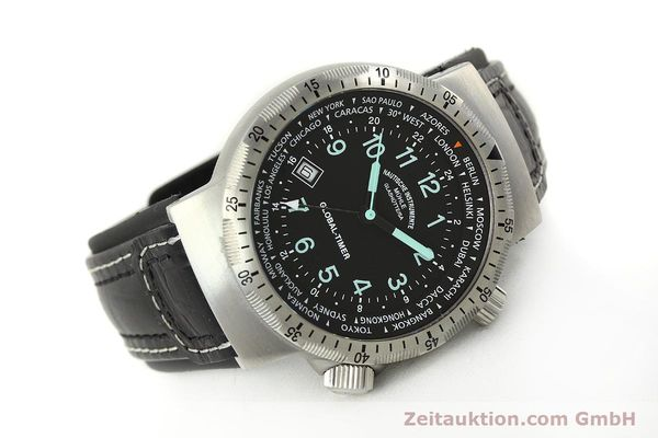 Used luxury watch Mühle Global-Timer  steel automatic Kal. ETA 2893-2 Ref. M1-41-13  | 150815 03