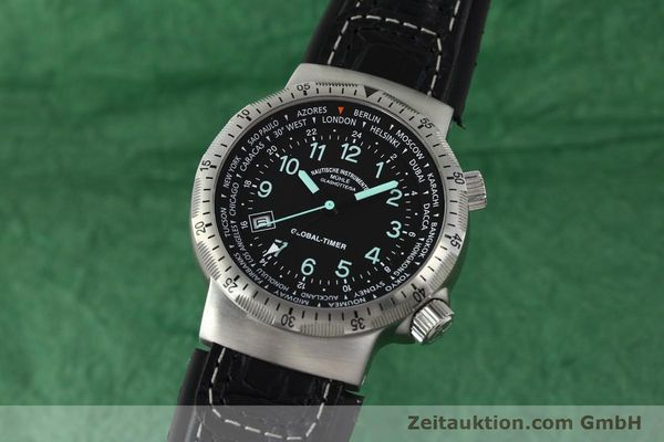 Used luxury watch Mühle Global-Timer  steel automatic Kal. ETA 2893-2 Ref. M1-41-13  | 150815 04