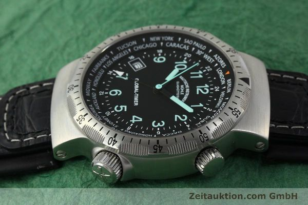 Used luxury watch Mühle Global-Timer  steel automatic Kal. ETA 2893-2 Ref. M1-41-13  | 150815 05
