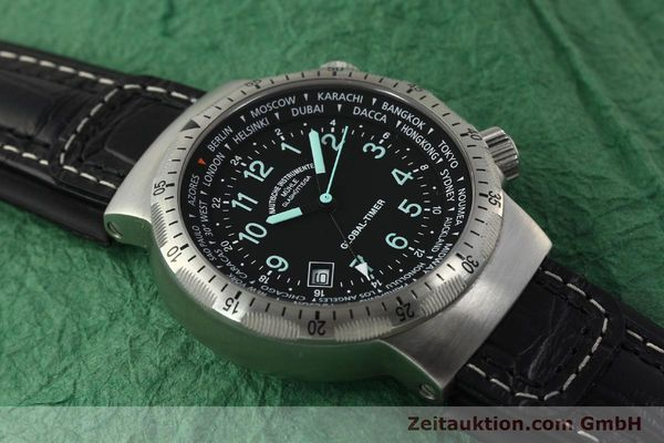 Used luxury watch Mühle Global-Timer  steel automatic Kal. ETA 2893-2 Ref. M1-41-13  | 150815 14