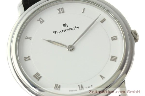 Used luxury watch Blancpain Villeret steel manual winding Kal. 21  | 150820 02