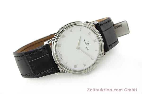 Used luxury watch Blancpain Villeret steel manual winding Kal. 21  | 150820 03
