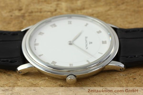 Used luxury watch Blancpain Villeret steel manual winding Kal. 21  | 150820 05