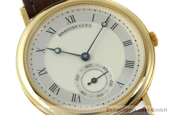 Used luxury watch Breguet Classique 18 ct gold manual winding Kal. 818/4 Ref. 1171A  | 150821 02