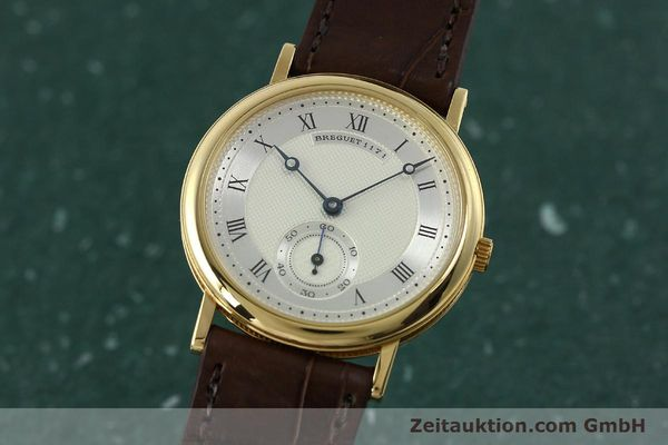 Used luxury watch Breguet Classique 18 ct gold manual winding Kal. 818/4 Ref. 1171A  | 150821 04