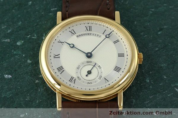 Used luxury watch Breguet Classique 18 ct gold manual winding Kal. 818/4 Ref. 1171A  | 150821 14