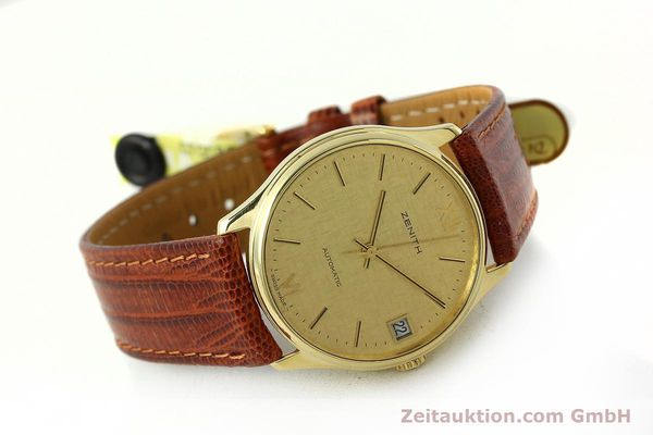 Used luxury watch Zenith * 18 ct gold automatic Kal. 2572PL Ref. 410.380  | 150822 03