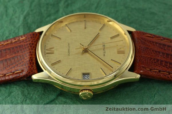 Used luxury watch Zenith * 18 ct gold automatic Kal. 2572PL Ref. 410.380  | 150822 05