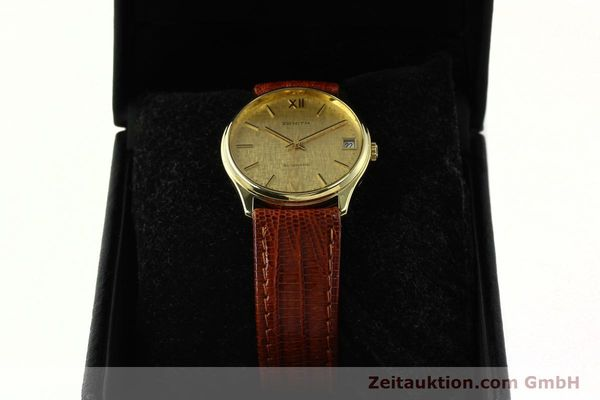 Used luxury watch Zenith * 18 ct gold automatic Kal. 2572PL Ref. 410.380  | 150822 07