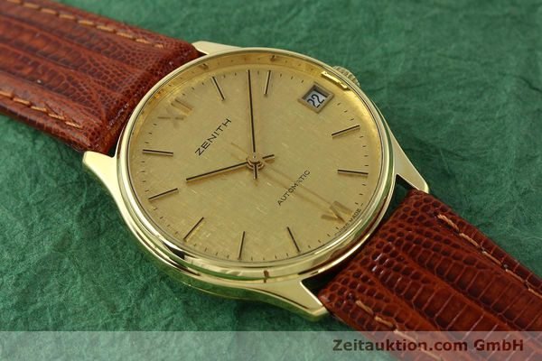 Used luxury watch Zenith * 18 ct gold automatic Kal. 2572PL Ref. 410.380  | 150822 12