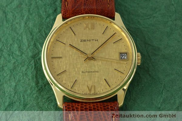Used luxury watch Zenith * 18 ct gold automatic Kal. 2572PL Ref. 410.380  | 150822 13