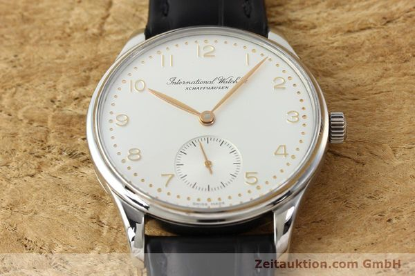 Used luxury watch IWC Portugieser steel automatic Kal. 891/2 Ref. 3531  | 150824 14