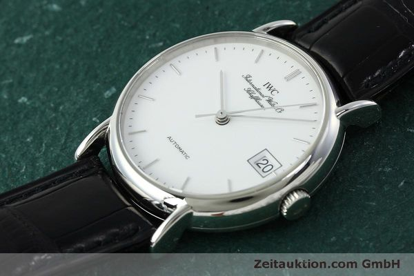 Used luxury watch IWC Portofino steel automatic Kal. 37521 Ref. 35131  | 150826 01