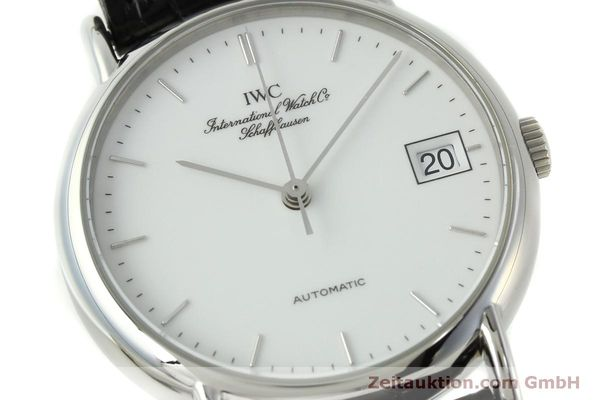 Used luxury watch IWC Portofino steel automatic Kal. 37521 Ref. 35131  | 150826 02