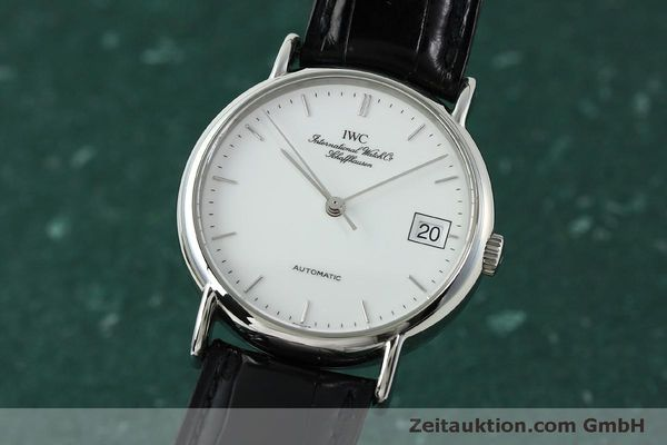 Used luxury watch IWC Portofino steel automatic Kal. 37521 Ref. 35131  | 150826 04