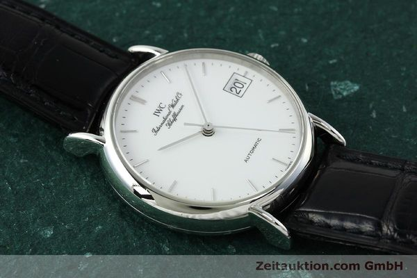 Used luxury watch IWC Portofino steel automatic Kal. 37521 Ref. 35131  | 150826 15