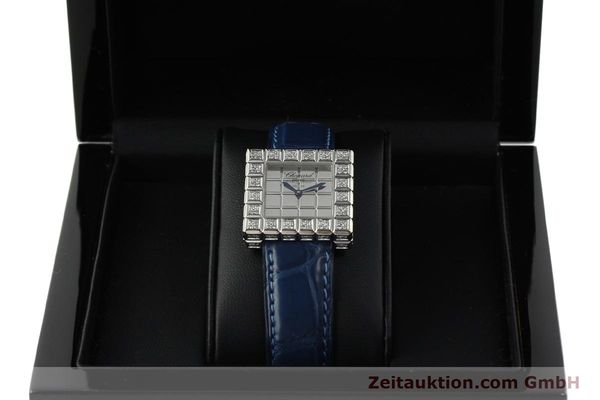 montre de luxe d occasion Chopard Ice Cube or blanc 18 ct quartz Kal. ETA 201001  | 150827 07