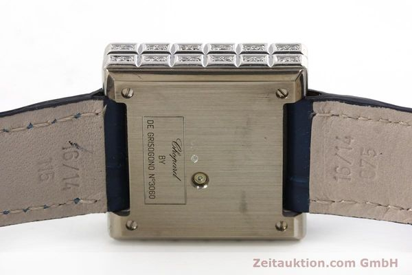 montre de luxe d occasion Chopard Ice Cube or blanc 18 ct quartz Kal. ETA 201001  | 150827 08